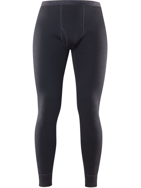 Devold M's Duo Active Long Johns with Fly Black